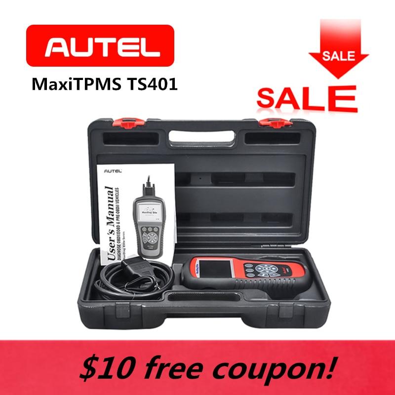 AUTEL MaxiTPMS TS401 TPMS OBD2 Automotive Programming Tire Sensor Activator Decoder Code Reader Car Diagnostic Tool