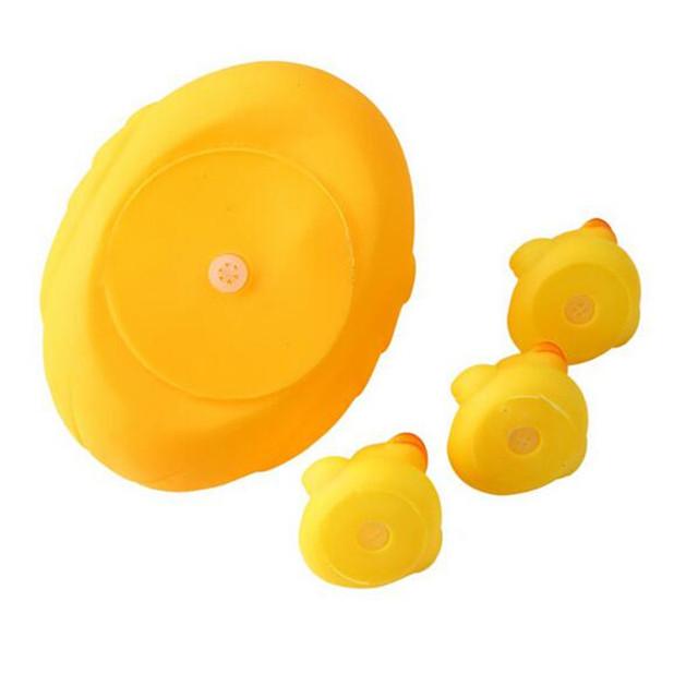 Duck Shaped Bath Toys 4 pcs Set