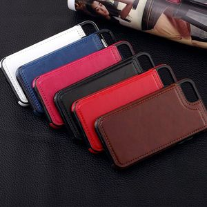 Image 2 - Caso para Samsung Galaxy S7 S8 S9 S10 Plus Nota 8 9 PU cuero Flip cartera cubierta con el titular del teléfono antiarañazos resistentes a la suciedad