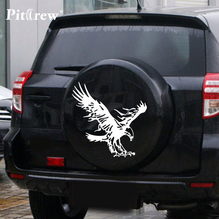 1PC Super Big Size 59*58cm High Quality Eagle Decals Car Sticker Wall Vinyl Window Body Decal Sticker Car Styling Accessories p80 panasonic super high cost complete air cutter torches torch head body straigh machine arc starting 12foot
