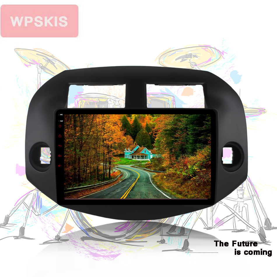 Android 10.0 Navigation 2 DIN Multimedia for <font><b>toyota</b></font> <font><b>rav4</b></font> 2007 2008 2009 <font><b>2010</b></font> 2011 Car GPS 8-core AUX Radio Video Car DVD Player image