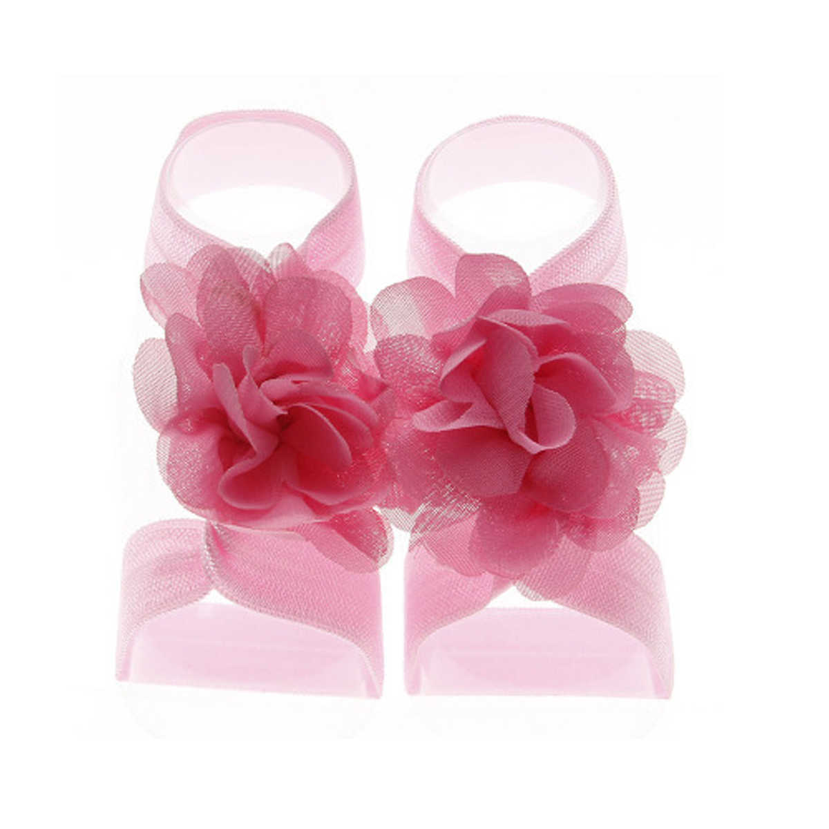 เด็กดอกไม้เท้ารองเท้าแตะเท้าเปล่ารองเท้า Photo Prop