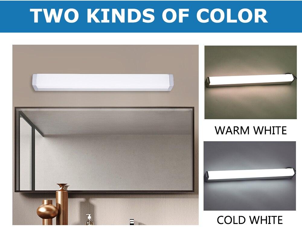 Led bathroom lamp