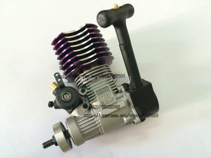 HSP 02060 P VX 18 Engine 2.74cc Pull Starter for RC 1/10 Nitro Car Buggy EG630 двигатель super tigre 18 nitro купить