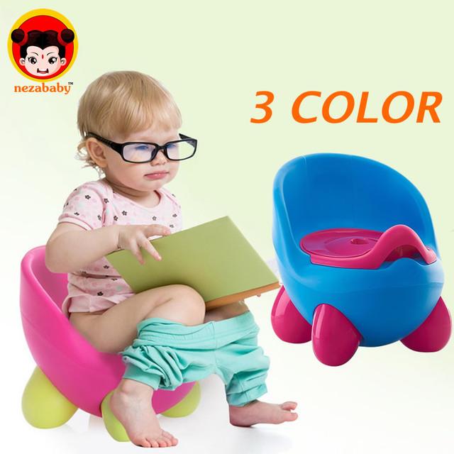 1-6 Anos Bebê Dos Desenhos Animados do Instrutor do Potty Potties Higiênico Mictório Trainer Plástico Portátil Para O Bebê Das Crianças Das Crianças Da Menina do Menino Trainer BP02