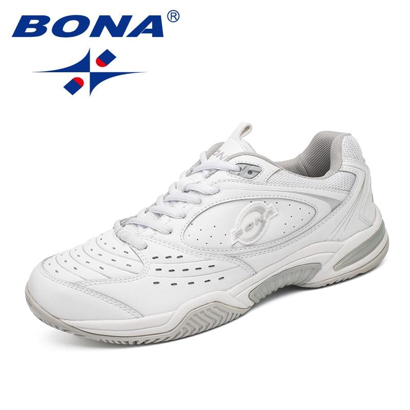 BONA nouveauté Style populaire hommes chaussures de Tennis en plein air Jogging baskets à lacets hommes chaussures de sport confortable livraison gratuite - 4