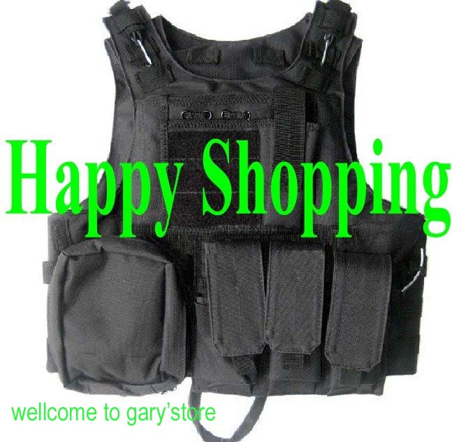 ФОТО Military Tactical Molle Vest Hunting Load bearing Suspender Mag Ammo Chest Rig Airsoft Paintball Harness
