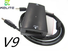 Émulateur JLINK V8 JLINK V9 JLINK V10, téléchargeur ARM STM32, brûleur JTAG/SWD
