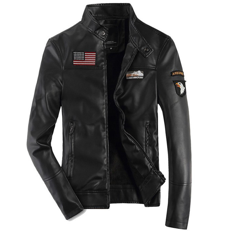 Popular Leather Flight Jacket-Buy Cheap Leather Flight Jacket lots ...