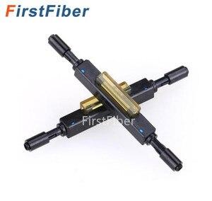 Image 1 - 10pcs Fiber optic fast connector L925B Fiber Optic Quick Connector Optical Fiber Mechanical Splice for Drop Cable