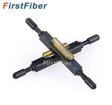 Conector rápido de fibra óptica, empalme mecánico de fibra óptica L925B para Cable de caída, 10 Uds.