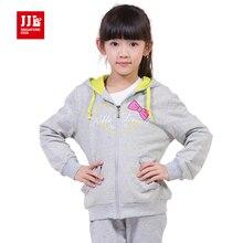 Filles sweat enfants tranchée manteau 2015 enfants veste fille manteau à capuchon taille 6-15 ans marque enfants vêtements