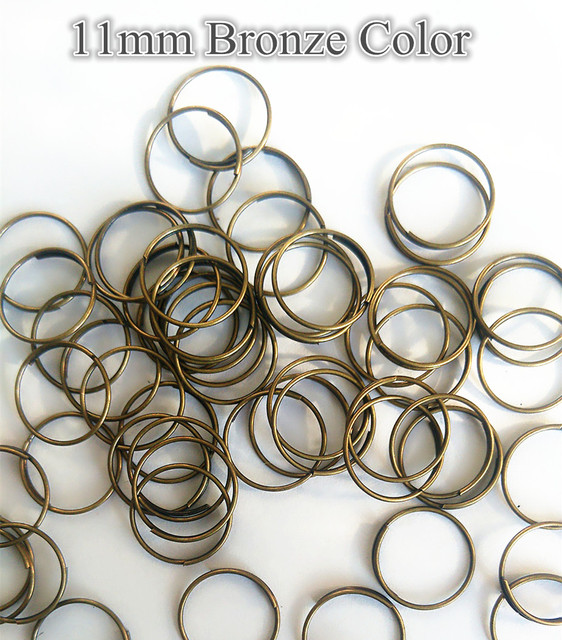 10000pcslot 11mm bronze metal rings crystal bead connectors strand 10000pcslot 11mm bronze metal rings crystal bead connectors strand garland diy connectors lamp parts aloadofball Image collections