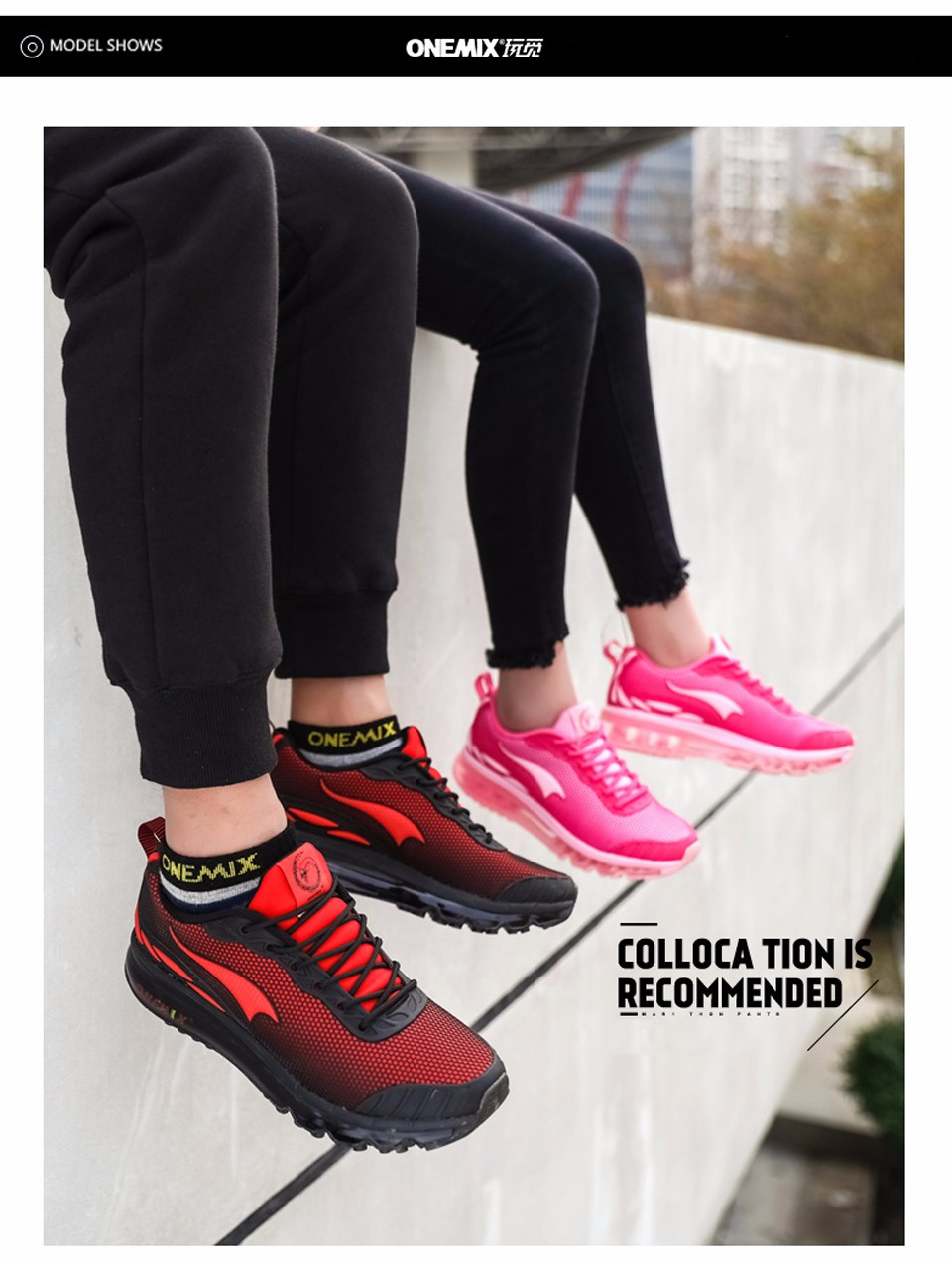 Brand Onemix Running Shoes Men Sneakers Women Sport Shoes Athletic Zapatillas Outdoor Breathable Original For Hombre Mujer 11 6