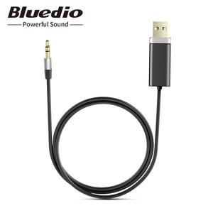 Image 1 - Bluedio BL Bluetooth receptor de audio y música 3,5mm audio estéreo Cable adaptador Bluetooth para altavoz auriculares
