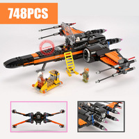 New The First Order X Wing Fighter fit star wars 75102 figures technic plane spaceship Model Building Blocks bricks Toy