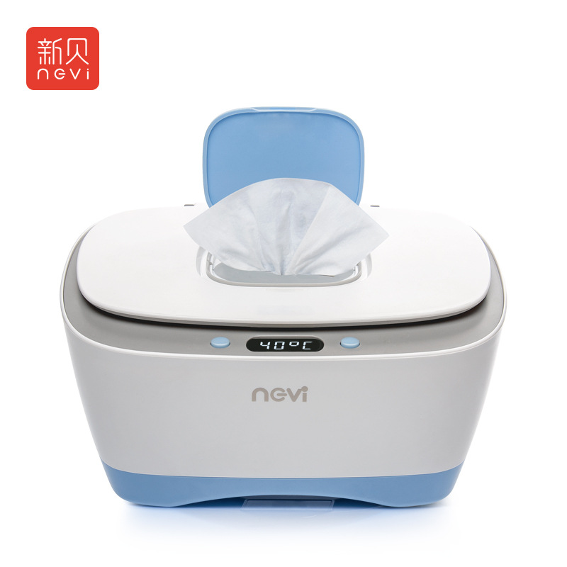 Adjustable Temperature Baby Wipe Heater Wet Towel Dispenser Thermostat Warm Wet Baby Wipes Wet Tissue Box Heating Storage Warmer