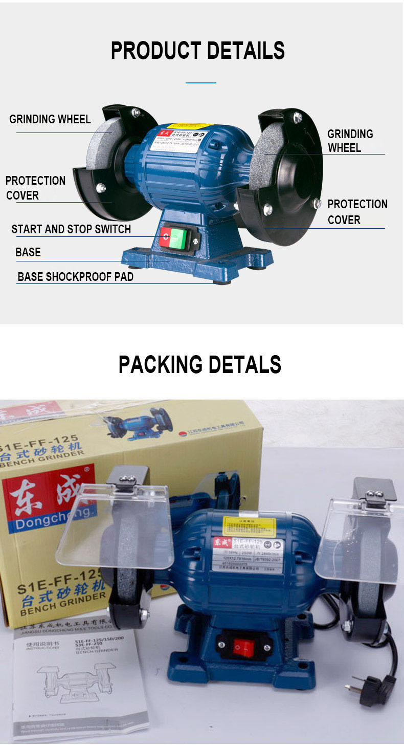 Fantastic Us 98 88 Bench Grinder Industrial Electric Grinding Machine Small Table Knife Sharpener 3 Phase Vertical Stone Milling Machine In Grinders From Creativecarmelina Interior Chair Design Creativecarmelinacom