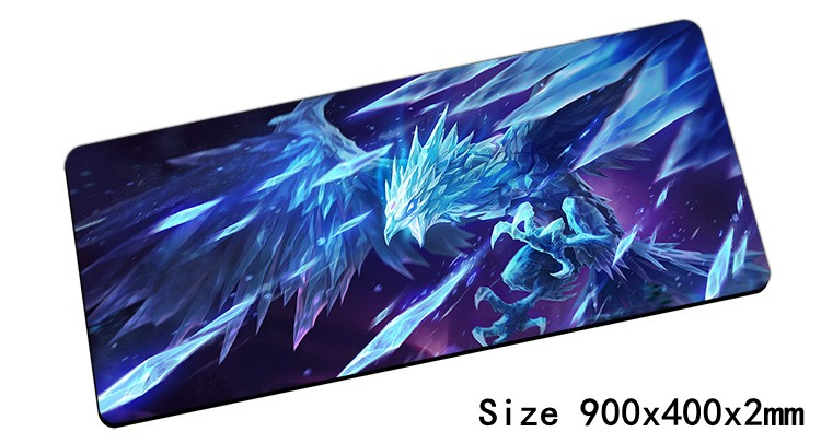Anivia Mouse Pad 900x400x2mm Pad Mouse Lol Notbook Computer Mousepad Cryophoenix Gaming Padmouse Gamer Keyboard Mouse Mats