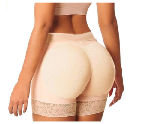 Sexy Women Butt Lifter Body Shaper Bum Lift Padded Knicker Enhancer Underwear Briefs High Waist Solid   Panties