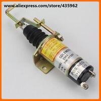 Diesel engine parts 12V 24V fuel stop solenoid 366 07197