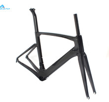 chinese 2016 New Painted Aero Carbon Fiber Frame Bicycle Road Bike Frame UD Weave BB386 DI2 48/50/52/54cm