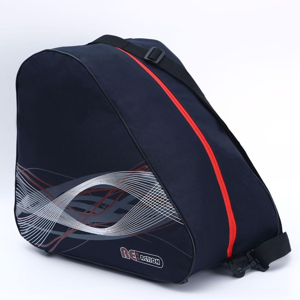 GRANDE Grossa de Gelo Profissional Saco de botas De Esqui De Neve Capacete de Skate Acessórios Portátil Carry Shoulder Bag Non-slip Para Snowboard preto