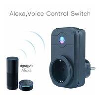LINGAN SWA1 Wireless Remote Control Smart Socket EU PLUG WHITE