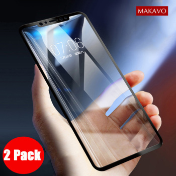 2 Packs For Xiaomi Redmi Note 6 Pro Tempered Glass 9H Explosion-proof Screen Protector Film For Redmi Note 6 Note6 Pro Glass lukmall iphone case