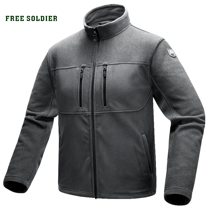 FREE SOLDIER Outdoor Sports Camping Hiking Tactical military Men s Jacket warmth Coat for climbing