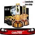 CARLitek 2Pcs H7 Led 4300K mit Lumileds ZES Chip Auto Scheinwerfer H4 H1 HB4 HB3 H11 Led Auto birne 72W 12000LM 5000K Nebel Lichter Auto Scheinwerfer Bulbs(LED)    -