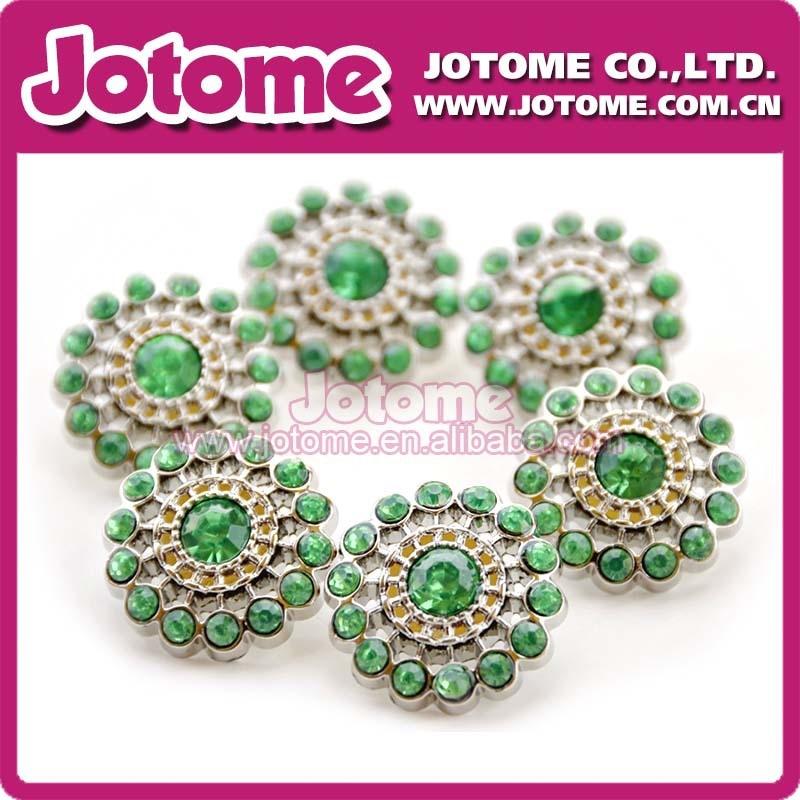 Hot Sale Fashion 25mm Plastic Acrylic Rhinestone Buttons