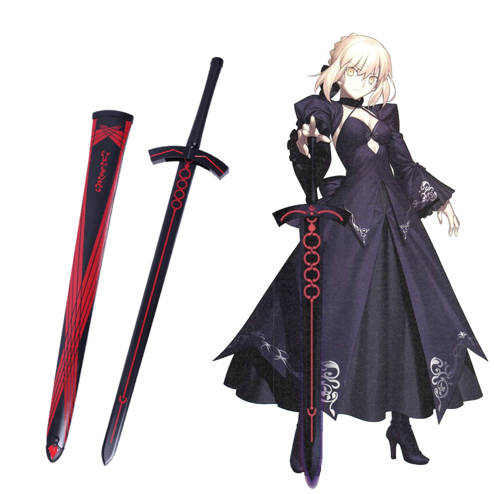Fate Stay Night Fate Grand Order Saber Alter Japanese Anime Game Cosplay Steel Sword Excalibur Sword in The StoneFate Stay Night Fate Grand Order Saber Alter Japanese Anime Game Cosplay Steel Sword Excalibur Sword in The Stone