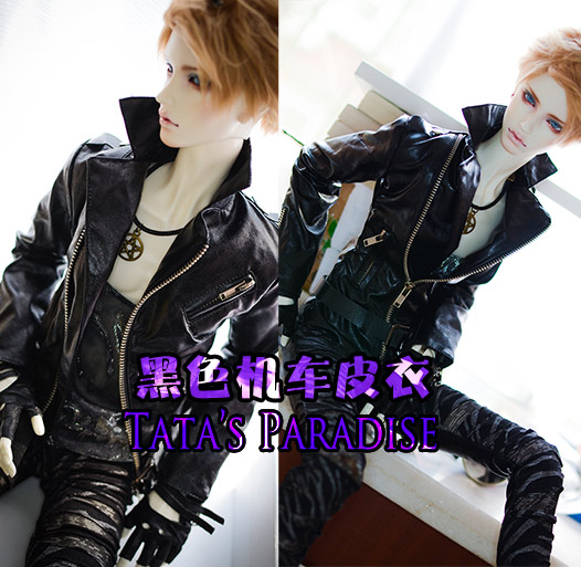 1/4 1/3 scale BJD Motorcycle jacket coat for BJD/SD clothes doll accessories,Not included doll,shoes,wig,and accessories 1107-in Dolls Accessories from Toys & Hobbies on AliExpress - 11.11_Double 11_Singles' Day 1