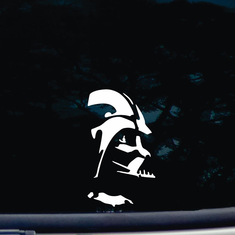 Darth Vader die cut sticker vinyl FUNNY decal for windows cars trucks tool boxes aptops MacBook 6'' TALL