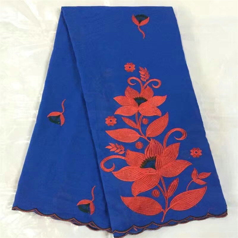 Hot selling Nigerian Tull Lace fabrics B8S20 ,Royal blue Embroidered Cotton lace 5yards a lot for clothing accessoriesHot selling Nigerian Tull Lace fabrics B8S20 ,Royal blue Embroidered Cotton lace 5yards a lot for clothing accessories