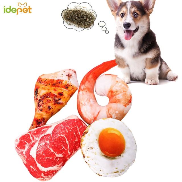 1 pz Pet Giocattolo Morso Erba Gatta Gatto Cucciolo di Cane Giocattoli Frutta Ve
