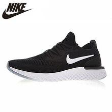 90851136 Nike Epic reagują Flyknit kobiet buty do biegania czarny biały sportowe  trampki odkryte oddychające AQ0070-