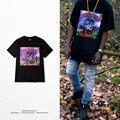 Rock metal moda t camisa dos homens heybig kanye west yeezy high street tops hop rap tee china dimensionamento personalizado clothing