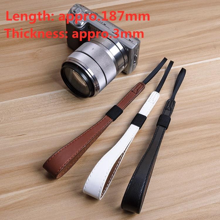 Fashion Characteristic Universal Camera Wrist Hand Strap Soft PU DSLR For Nikon/canon/fuji/sony A5100a6300A7RM2A6000A6500a7