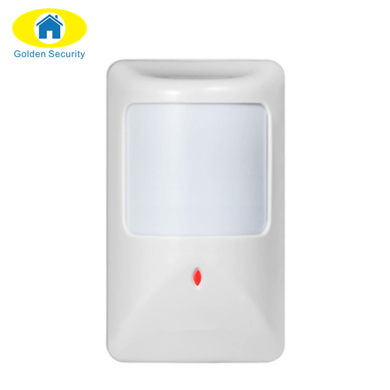 Golden Security Univesal Wired PIR sensor for Home Alarm System Wired Infrared Motion Detector Sensor work with All Alarm Panel
