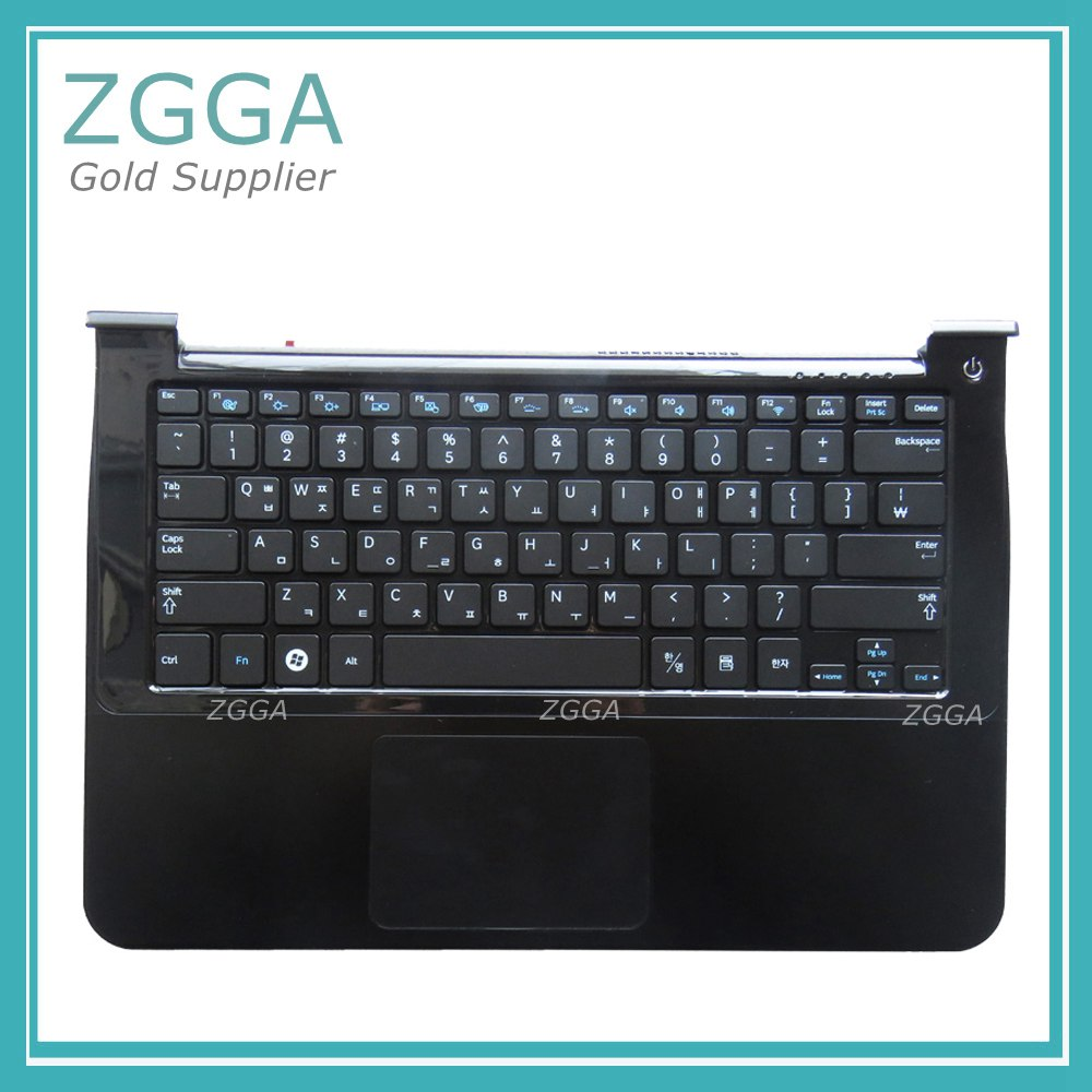 GENUINE New for Samsung NP900X3A 900X3A Korean Layout Laptop Keyboard with Touchpad Palmrest BA75-02898B цена