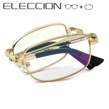 Portable Folding Reading Eyeglass Optical Prescription Glass