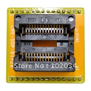 100% NEW OTS-28-1.27-04 SOP28 IC Test Socket / Programmer Adapter / Burn-in Socket(CNV-SOP-NDIP28) free shipping 100 pcs lot tlp181gb sop new in stock ic