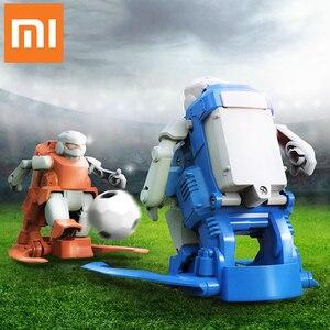 Image 2 - 2019 Nieuwe Xiaomi Mitu Voetbal Robot Builder Diy Kinderspeelgoed Robots Verjaardag Cadeaus Voor Jongens Meisjes Kids World Cup voetbal