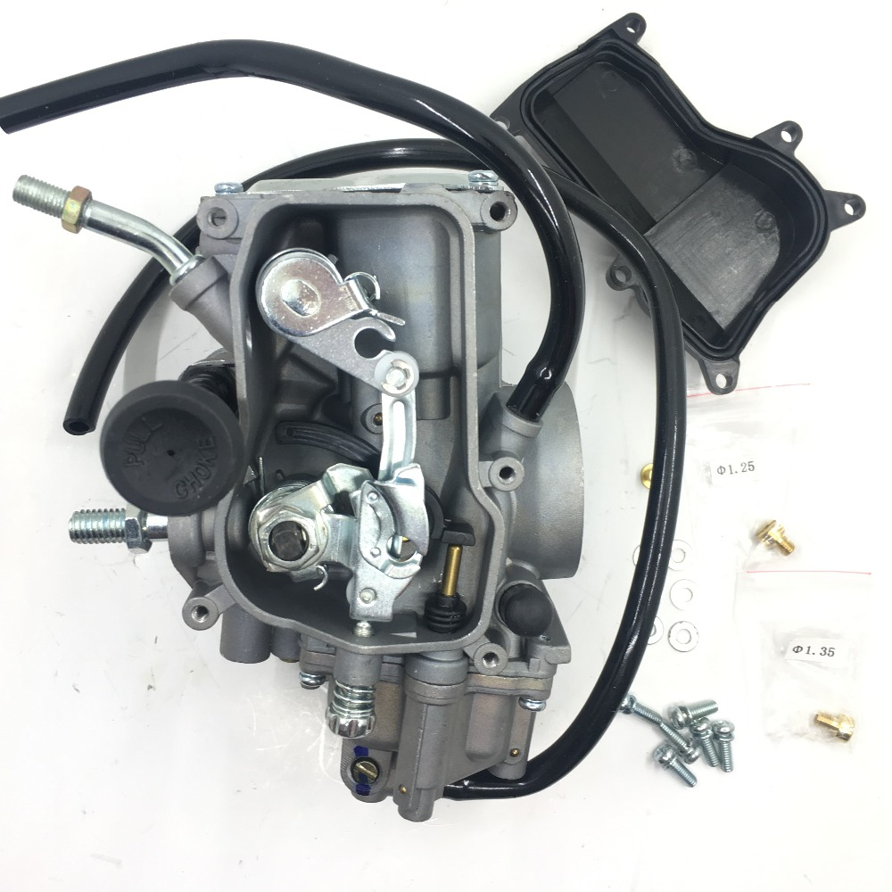 Carburetor for Yamaha Warrior Kodiak Big Bear Wolverine 350 400 free shipping good quality carburettor carb for yamaha 350 black throttle base cover carburetor for honda trx350 atv carburetor trx 350 rancher 350es fe fmte tm carb 2000 2006