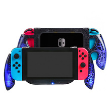 Yoteen Portable Handle Grip For Nintendo Switch Console Gamepad Controller With Charging Port Stand Holder NS