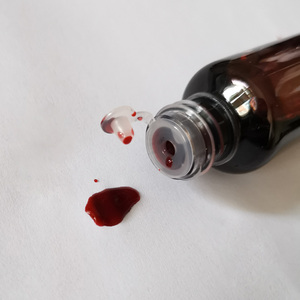 Image 3 - Vampire Fake Blood Teeth Vomiting Edible Pulp Halloween Party Supplies Ultra realistic Simulation Human Hematopoietic Props