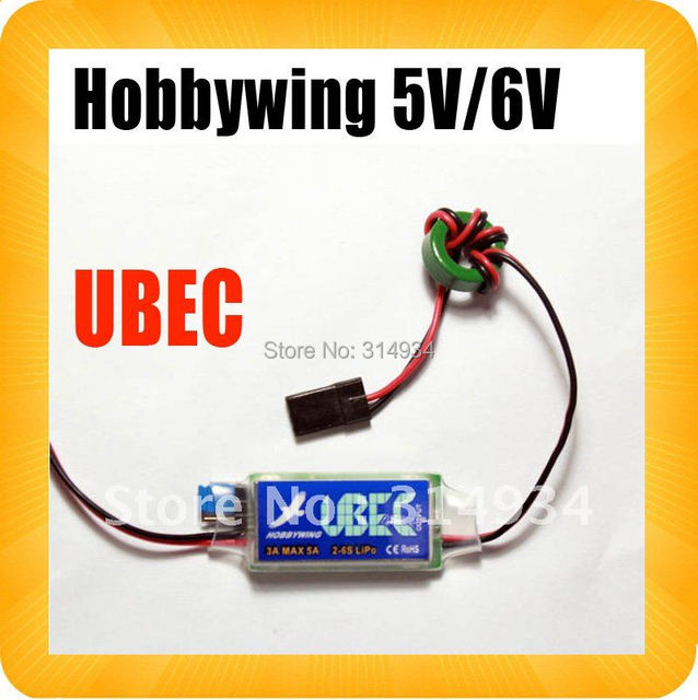 Hobbywing 5V 6V switchable Switch-Mode Ultimate BEC (UBEC)  5A RC 3A U-BEC UBEC 5.5-26V  esc WORK WITH 2-6S LIPO TOY SPORTS