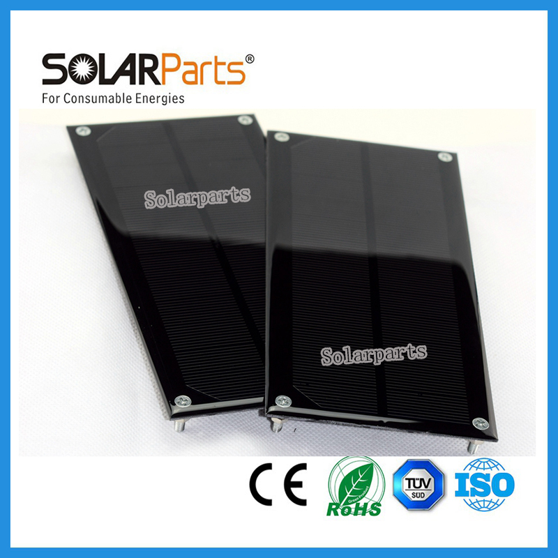 Solarparts 5pcs x0.75W/1V Monocrystalline Solar Modules,High Quality and Low Price for DIY assembly toys /RV educational outdoor